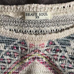 Brave Soul Sweaters - Brave Soul top